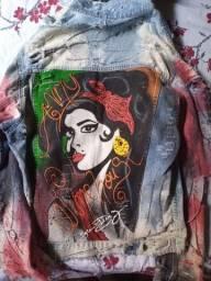 Jaqueta personalizada Amy Winehouse
