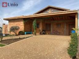 Casa com 3 dormitórios à venda, 280 m² por R$ 1.450.000 - Residencial Terras de Ártemis (Á