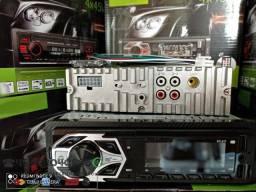 Radio Bluetooth/Carregador celular/USB/AUX/FM/SD/4RCA novo