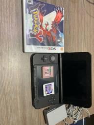 Nintendo 3DS XL Usado com 2 jogos POKÉMON