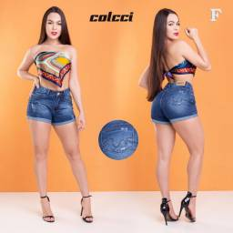 Shortinho feminino jeans
