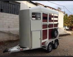 Trailer reboque carretinha 2(dois) cavalos