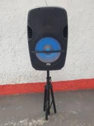 Caixa de som PRO BASS com Bluetooth