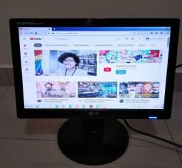 Monitor LG 16 polegadas widescreen novinho