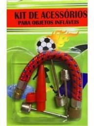 Kit acessorio para objeto infláveis para bolas pneus