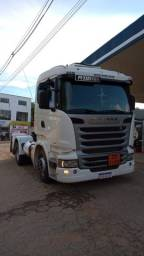 Scania 2014 com retarder e bitrem ano 2007 8 repartições