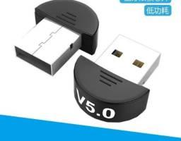 Adaptador Usb Bluetooth 5.0 Dongle Para Pc Notebook