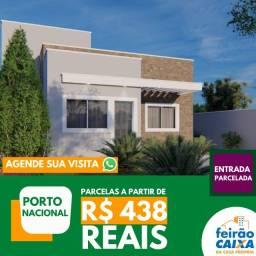 Sua casa própria com parcelas de R$ 438 reais