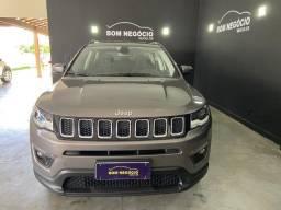Jeep/Compass Sport banco de couro  2019  Semi Nova com Cara DE Zero