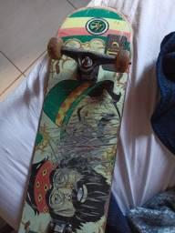 Skate shape tom Penny Flip rolamento red bones