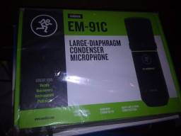Microfone condensador mackie
