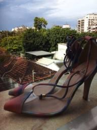 sandalais fashion de blogueiras novas Laus and CO