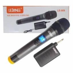 Microfone Sem Fio Lelong Le-909