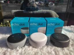 Amazon Echo Dot 3 - Alexa - Entregamos - Loja Fisica