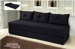 Sofá cama lindo, novo com várias cores disponíveis