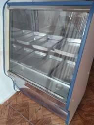 Balcão estufa para salgados