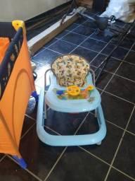 Quadrado berço, andaja, carrinho e bebê conforto