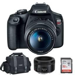 Câmera fotográfica Canon EOS Rabel T7