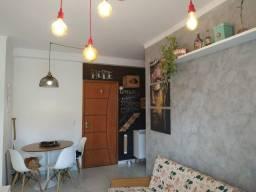 Apartamento em Ubatuba mobiliado e decorado, 1 dormitório.