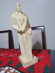 Estatua casal  decoração