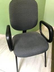 Cadeira de escritório sem rodinha