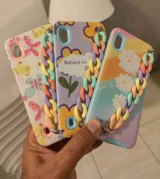 Capa candy Samsung Galaxy A10 A20 A30 S10 Lite e Samsung Galaxy S20 FE