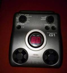 Pedaleira musical Zoom G1 para guitarra elétrica