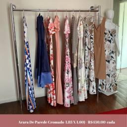 Araras para loja te roupas
