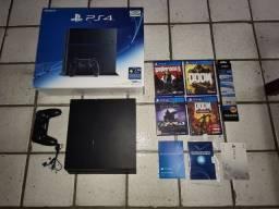PS4 FAT Na caixa, único dono, nunca aberto!