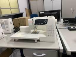 Maquina de costura Janome  QDC 3160   60 pontos semi nova