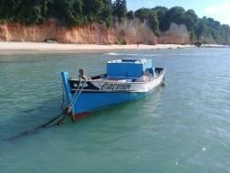 Barco a motor b8 diesel e vela