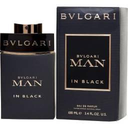 Título do anúncio: Bvlgari Man In Black Masculino Edp 100ml