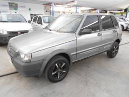 Fiat uno mille fire way 1.0 flex completo 2009/2010 revisado lacrado file