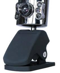 Webcam com microfone , nova