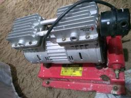 Motor compressor para poço
