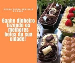 GANHE DINHEIRO FAZENDO OS MELHORES BOLOS DA SUA CIDADE