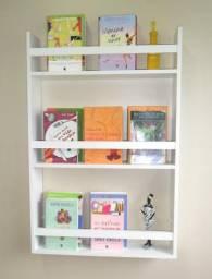 Porta Revistas E Livros Decoração - Adega - Barzinho - 100% Mdf 85 X 60 X 12 Cm