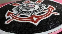 Corinthians Mosaico, Piso, parede, quadro, mesa, piscina