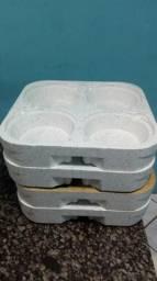 Modolo de isopor para por marmitex