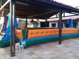 Tobogã futebol de sabão castelo infláveis cama elástica