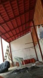 Cobertura de telhado e estruturas