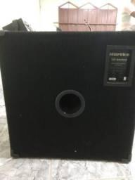 Cabeçote + caixa Hartke