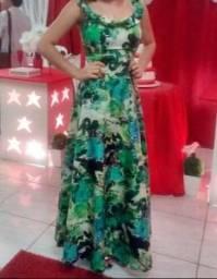 Vendo vestido longo,usado uma vez!