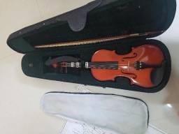 Violino michael 4/4 muito novo