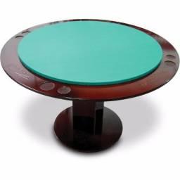 Mesa De Poker E Carteado Redonda Para Jogos 8 Pessoas 1077
