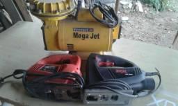 Um compressor e duas tico tico