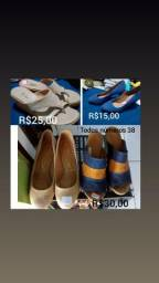 Bazar sandálias, sapatos