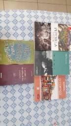 Coleção livros de vestibular Unicamp e Fuvest