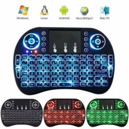 Mini Teclado Wireless LED para Smart TV, PC, TV Box