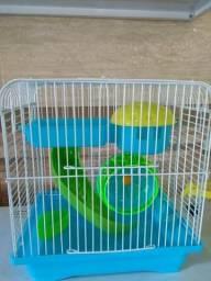 Filhote de hamster+gaiola nova completa
